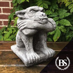 Grumpy Gargoyle - Garden Ornament Mould | Brightstone Moulds