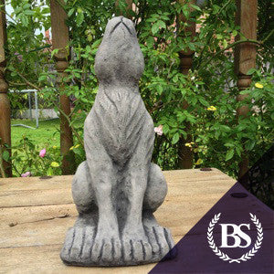 Small Moon Gazing Hare - Garden Ornament Mould | Brightstone Moulds