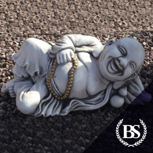 Laying Buddha - Garden Ornament Mould | Brightstone Moulds