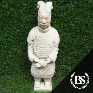 Terracotta Warrior - Garden Ornament Mould | Brightstone Moulds