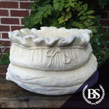 Large Sack Planter - Garden Ornament Mould | Brightstone Moulds