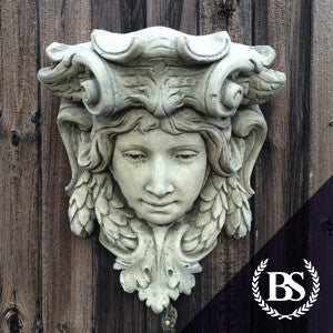 Large Face Wall Planter Garden Ornament Mould