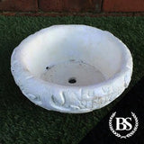 Round Herb Planter - Garden Ornament Mould | Brightstone Moulds