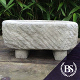 Oval Rustic Planter - Garden Ornament Mould | Brightstone Moulds