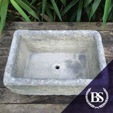 Large Rustic Trough - Garden Ornament Mould | Brightstone Moulds