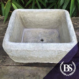 Tall Rustic Trough - Garden Ornament Mould | Brightstone Moulds