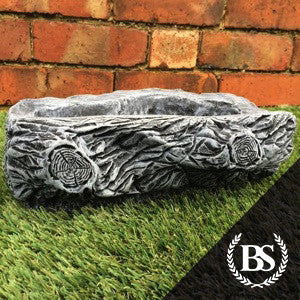 Small Log Trough - Garden Ornament Mould | Brightstone Moulds