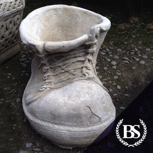 Large Old Boot Planter Garden Ornament Mould Brightstone Moulds Brightstone Garden
