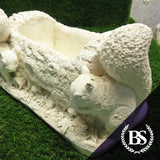 Squirrel Planter - Garden Ornament Mould | Brightstone Moulds