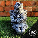 Girl with Basket - Garden Ornament Mould | Brightstone Moulds
