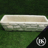 Brick Effect Planter - Garden Ornament Mould | Brightstone Moulds