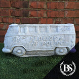 Hippy VW Camper Van Planter - Garden Ornament Mould | Brightstone Moulds