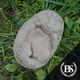 Sleeping Hedgehog - Garden Ornament Mould | Brightstone Moulds
