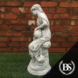 Wheat Girl - Garden Ornament Mould | Brightstone Moulds
