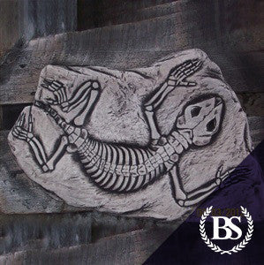 Lizard Fossil - Garden Ornament Mould | Brightstone Moulds
