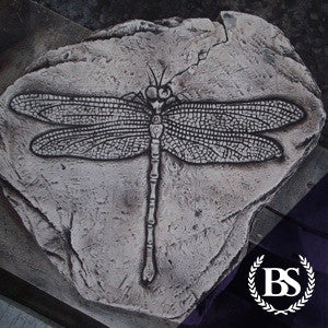 Dragon Fly Fossil - Garden Ornament Mould | Brightstone Moulds