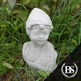 Elf Bust - Garden Ornament Mould | Brightstone Moulds