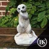 Meerkat Eating - Garden Ornament Mould | Brightstone Moulds