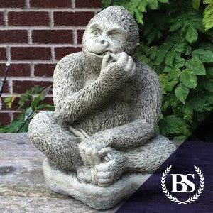 Gorilla Eating   Garden Ornament Mould | Brightstone Moulds