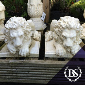 Chatsworth Lions (Pair) - Garden Ornament Mould | Brightstone Moulds