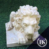 Chatsworth Lion (Left) - Garden Ornament Mould | Brightstone Moulds