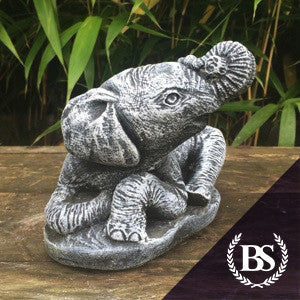 Laying Elephant - Garden Ornament Mould | Brightstone Moulds
