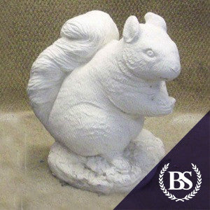 Large Squirrel - Garden Ornament Mould | Brightstone Moulds