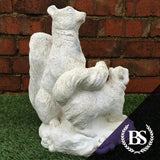 Squirrel Family - Garden Ornament Mould | Brightstone Moulds