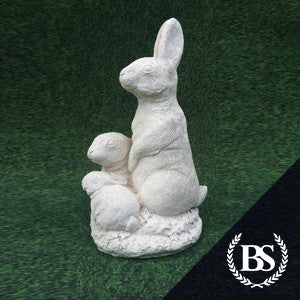 Rabbit Family - Garden Ornament Mould | Brightstone Moulds