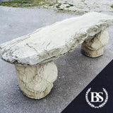 Woodland Log Bench x2 legs