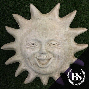 Sun Face - Garden Ornament Mould | Brightstone Moulds