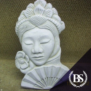 Japanese Woman - Garden Ornament Mould | Brightstone Moulds