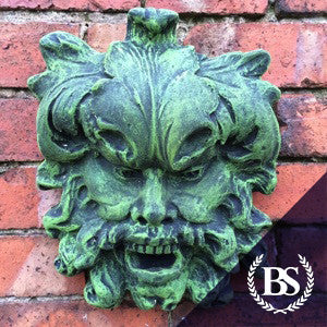 Green Man Two - Garden Ornament Mould | Brightstone Moulds
