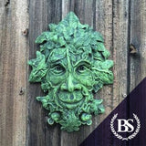 Green Man One - Garden Ornament Mould | Brightstone Moulds