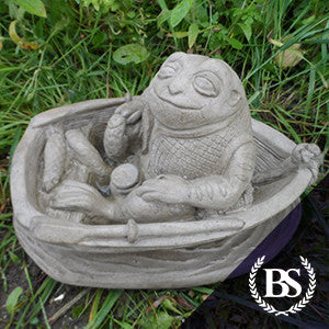 Frog Fishing - Garden Ornament Mould | Brightstone Moulds