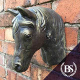 Horse Head Plaque - Garden Ornament Mould | Brightstone Moulds