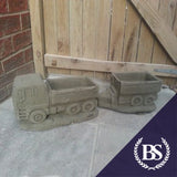 Scania Lorry Planter - Garden Ornament Mould | Brightstone Moulds