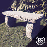 Woodland Bench - Garden Ornament Mould | Brightstone Moulds