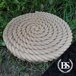 Rope Stepping Stone - Garden Ornament Mould | Brightstone Moulds