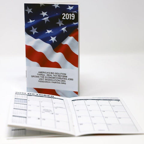 2019 America's Big Solution Pocket Calendars Have Arrived