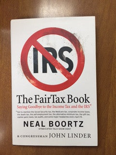 The FAIRtax Book in HARD COVER