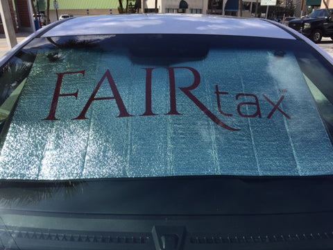 NEW  FAIRtax℠ Vehicle Sunshade