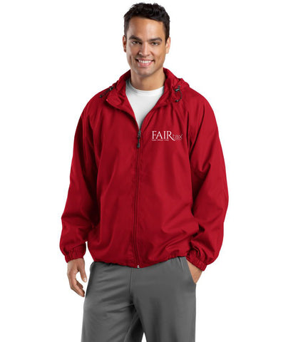 Sport Tek Hooded Raglan Jacket