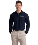 FREE TOTE BAG with purchase of Mens Port Authority Silk Touch Long Sleeve Polo Shirt