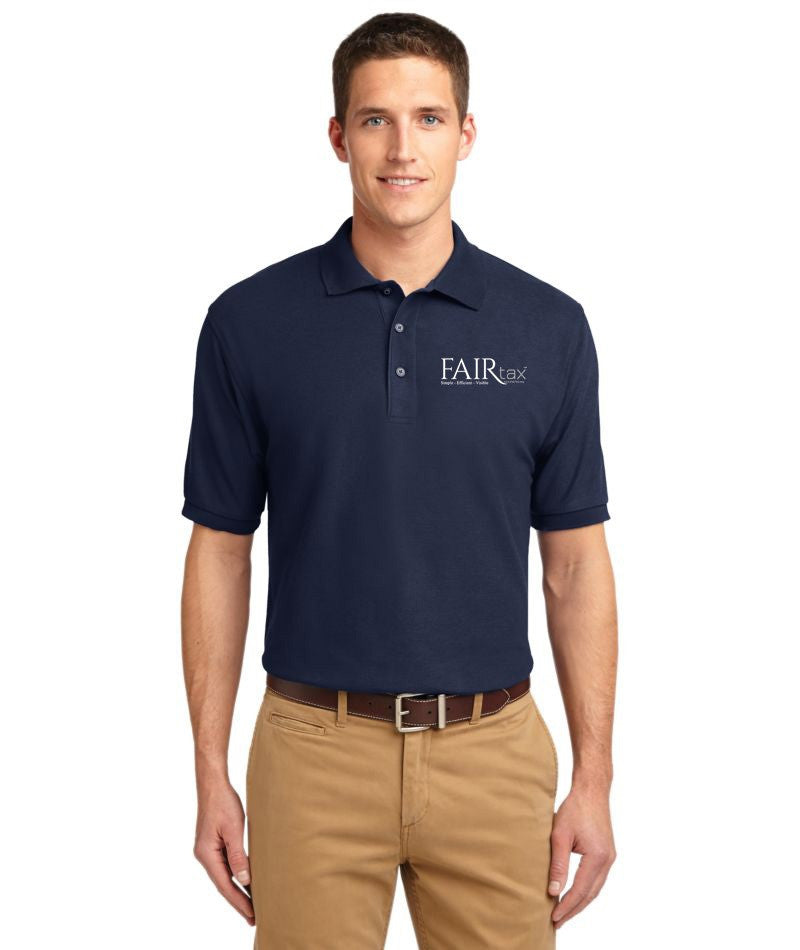 Mens Port Authority Silk Touch Polo Shirt - MUST CLICK LOGO WITH POCKET IF YOU WANT POLO WITH POCKET