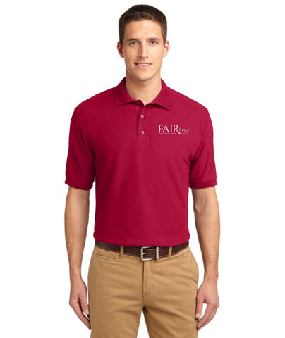 FREE TOTE BAG with purchase of Mens Port Authority Silk Touch Polo Shirt