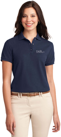 FREE TOTE BAG with purchase of Port Authority Ladies Silk Touch Polo Shirt