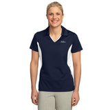 FREE TOTE BAG with purchase of Ladies Sport-Tek Side Blocked Micropique Sport-Wick Sport Shirt NO WWW.