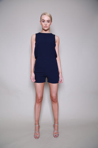 Unique 21 Navy Playsuit