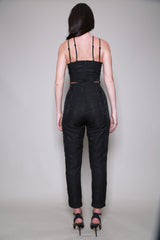 Lumier By Bariano Cross Body Jumpsuit